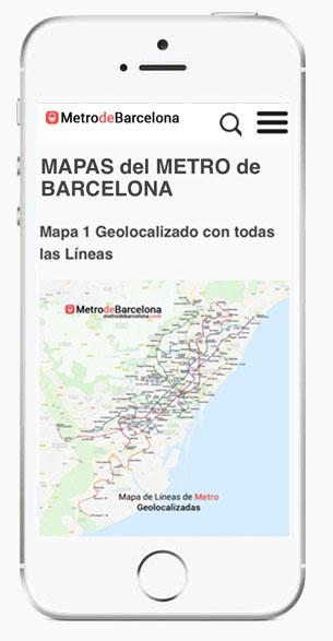 Web app del metro de barcelona